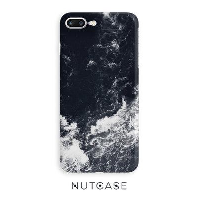 檸檬手機配件~~NUTCASE風景海浪蘋果iPhone78手機殼iPhoneX/XS硅膠油畫保護套