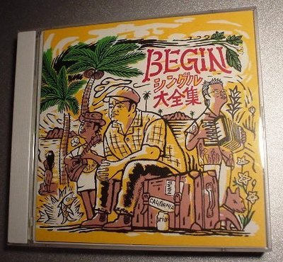 *日版CD-- BEGIN -- BEGIN シングル大全集( 2CD)