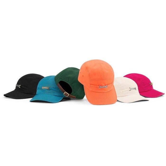 【紐約范特西】預購 SUPREME SS20 Name Plate Camp Cap 棒球帽