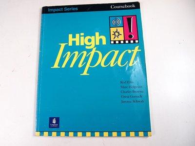 【考試院二手書】《High Impact! 》│Rod Ellis│七成新(22Z12)
