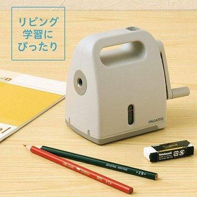 ˙TOMATO生活雜鋪˙日本進口雜貨人氣設計大賞Pacatto半自動式削鉛筆機(預購)