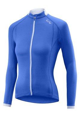 全新 新款 GIANT 捷安特 Liv TERRA 女生/女性薄長袖車衣 藍