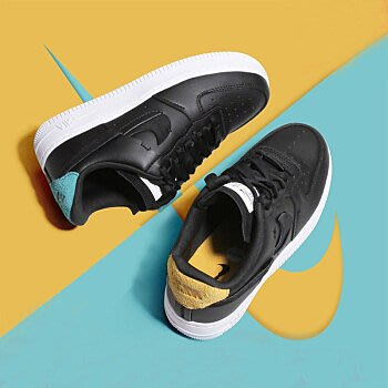 【Dr.Shoes】Nike Air Force 1 Inside Out 斷勾 休閒運動鞋 女鞋 898889-014