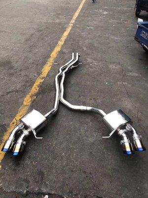 【YGAUTO】二手時間 Porsche 保時捷 Macan 改裝 Fi 二手中尾段排氣管