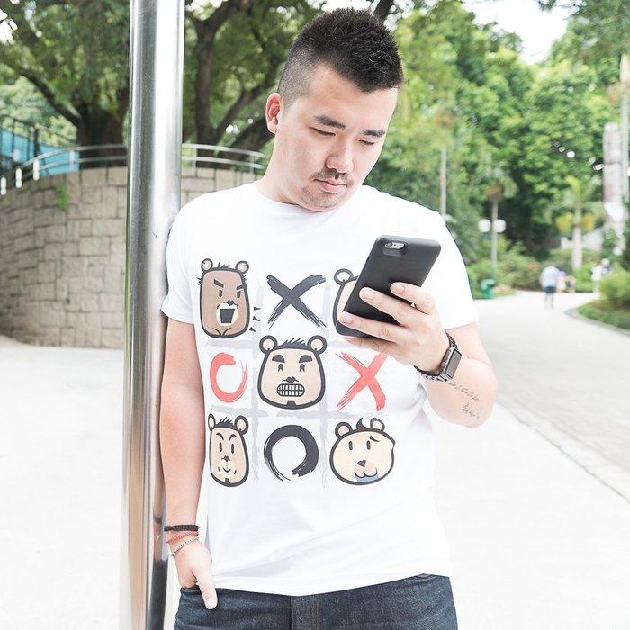 【OTOKO Men's Boutique】Master Bear 馬斯特熊  00XX熊/TEE/白色(台灣獨家代理)