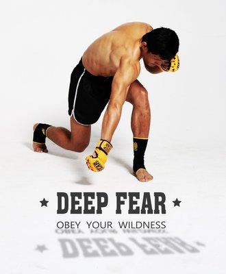拳擊DF分指拳套 幸運賭徒GAMBLER款 MMA綜合格斗健身搏擊手套DEEPFEAR