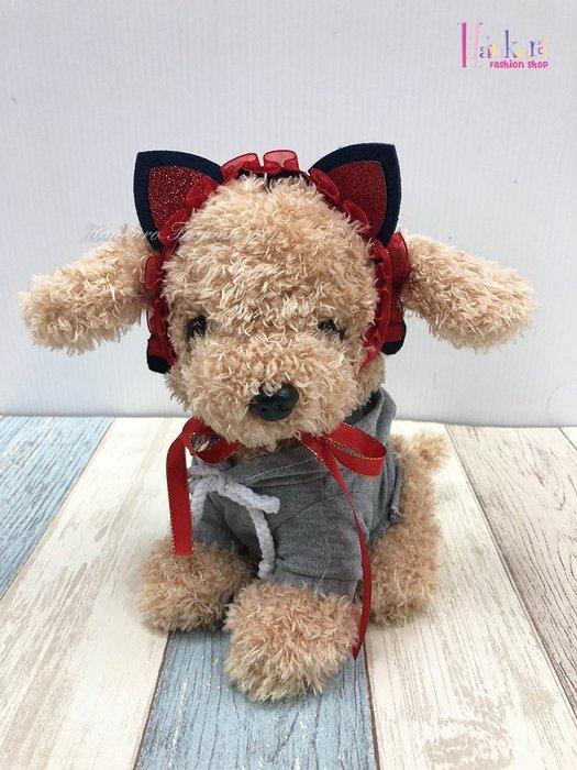 ☆[Hankaro]☆ 寵愛毛小孩搞怪蕾絲貓耳造型頭飾裝扮(共三種尺寸)
