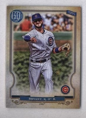 2020 Topps Gypsy Queen #38 Kris Bryant - Chicago Cubs