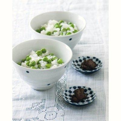 【Apple 艾波好物.選物】日本栗原晴美 夫婦碗 水玉茶碗 飯碗 對碗 + 方格醬料碟 一組4入