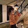 小香風 短袖T恤 時尚穿搭 19早秋 韓版 小清新寬松POLO領設計感花苞袖襯衣學生可愛長袖襯衫女