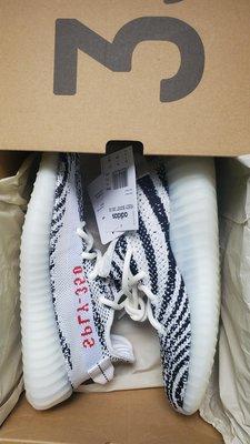 Adidas Yeezy Boost 350 OG Zebra 2020 白斑馬 Kyane West 肯爺 女碼 女鞋 US5 23CM