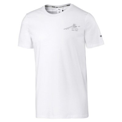 POMELO柚 PUMA TYAKASHA 系列 短袖T恤 塗鴉 白色 男款 595735-02
