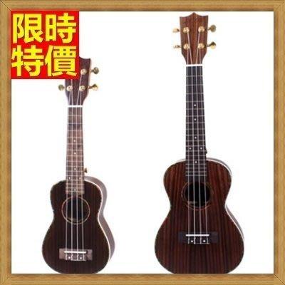 烏克麗麗 ukulele-鍍金旋鈕21吋玫瑰木合板夏威夷吉他四弦琴樂器2款69x18[獨家進口][米蘭精品]