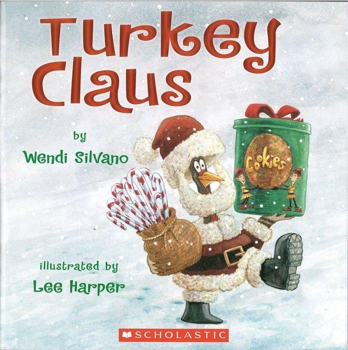 *小貝比的家*TURKEY CLAUS/平裝/3~6歲/感恩節