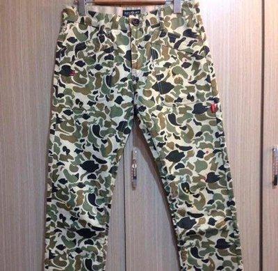 cabal LOGO 獵鴨迷彩褲 size:L珍藏逸品非AES.REMIX