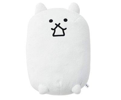 日本正版 貓咪大戰爭 坦克貓 白色 娃娃 玩偶 日本代購