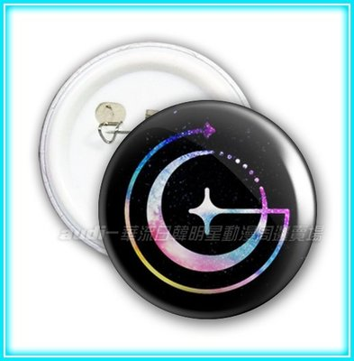 【現貨】GFriend 4.4公分 4.4cm 胸章(任選買8送1) 胸章 胸針 所願 SinB 睿隣 銀河 徽章 訂做