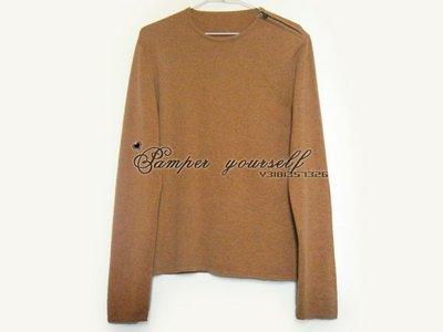 全新 法國真品 HERMES 愛馬仕 喀什米爾羊毛 CASHMERE 毛衣 羊毛衣 鎖頭風格 蘇格蘭製造