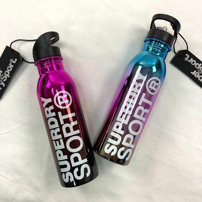 現貨 8427 FI3 兩色漸層 運動 水壺 吸管杯 健身水壺 極度乾燥 隨身瓶 superdry 水瓶