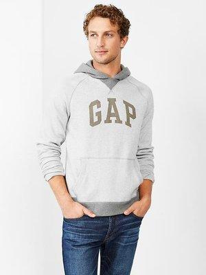 【BJ.GO】美國GAP_男裝_Colorblock logo hoodie 經典LOGO連帽上衣/美國官網最新商品