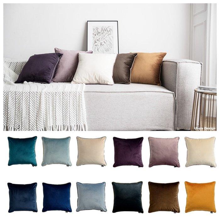 【Uluru】北歐簡約 抱枕 靠枕 枕芯 45x45 50x50 60x60cm 多件優惠   傢飾軟件 配件