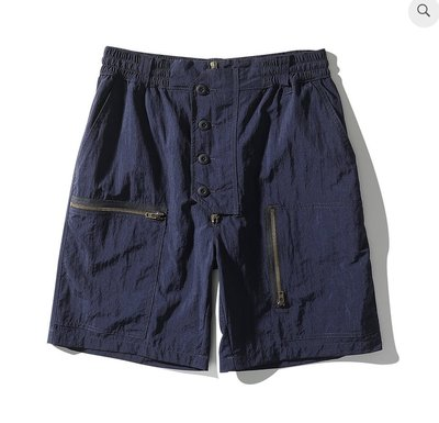 WaShiDa Club Stubborn Flying Shorts 深藍 短褲
