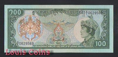 【Louis Coins】B720-BHUTAN--1986不丹紙幣5.000 Rubles