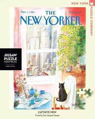 愛拼~【現貨】New York Puzzle 美國進口拼圖 窗邊的小貓 1000片