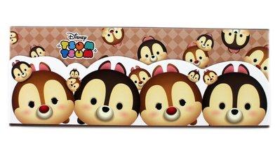 【卡漫迷】 tsum 盒 奇奇蒂蒂 ㊣版 Chip Dale 松鼠 花栗鼠 筆盒 置物盒 萬用 收納 鉛筆盒 製