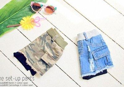 2014夏裝-p&c-牛仔系列褲裙(現貨   迷彩 7)