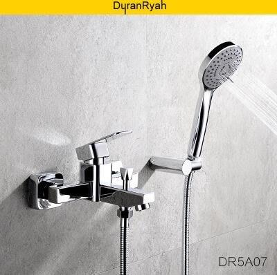 【優上】龍頭花灑全套duranryan淋浴花灑套裝浴室全銅混水閥淋浴房花灑浴缸水龍頭