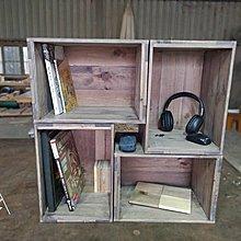 佳源木材工業風鄉村風擺設收納木盒木箱床頭木材實木邊桌矮桌矮凳矮子木椅