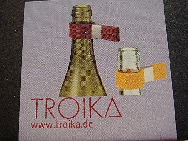 全新從未用過的德國品牌 Troika 葡萄酒瓶防漏器,一組兩件,低價起標無底價!免運費!