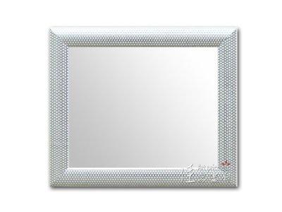 ◎『佳家畫廊』→圈圈銀色款【加框尺寸約60*70cm】穿衣鏡/掛鏡玄關鏡◎高雄訂做鏡子