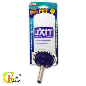 GO-FINE 夠好 立可吸-小寵物飲水瓶 老鼠免子天竺鼠飲水器- 8oz小容量(240cc)美國寵物第一品牌LIXIT