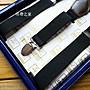 高級4 夾真皮盒裝彈性吊帶,寬度2.5cm, 現貨, 送禮自用新選擇-吊帶之家#C353