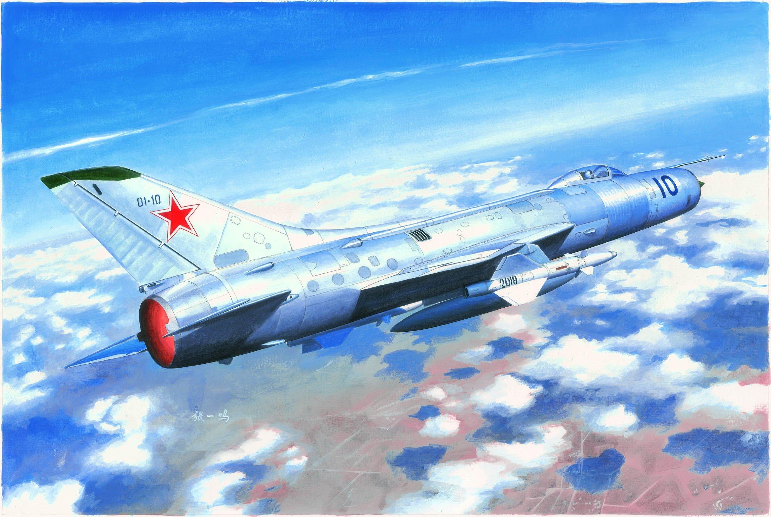 TRUMPETER 小號手 1/48 蘇聯 Su-11 捕魚籠 截擊機 (02898)