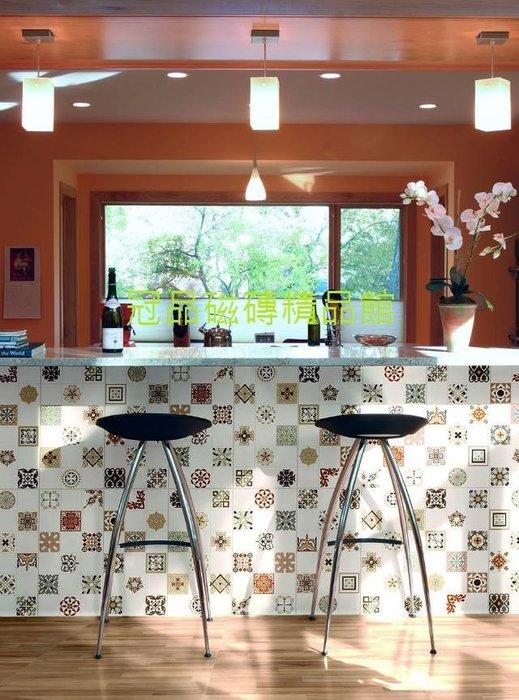 ◎冠品磁磚精品館◎進口精品-美式復古花壁磚(共二款)- 30X60CM
