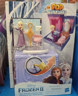冰雪奇緣2 基本場景遊戲組 艾莎公主 單價 ct#eii