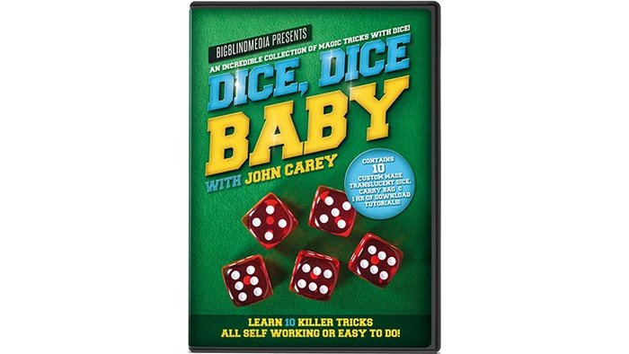 【天天魔法】【S1164】正宗原廠~骰子寶貝~Dice, Dice Baby with John Carey