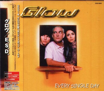 K - GLOW - EVERY SINGLE DAY - 日版 CD+3BONUS