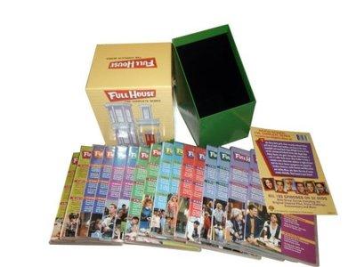 外貿影音 原版美劇 青春滿屋 Full House 歡樂滿屋 完整珍藏版高清DVD 32碟