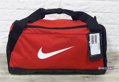 898bd8c1a95023  SL美日購 Nike Brasilia 6 Small Grip Duffle 行李袋旅行袋運動包健身袋紅色