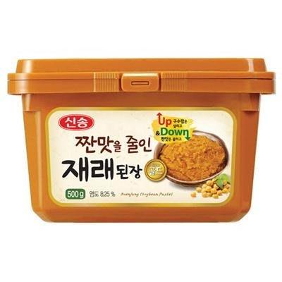~韓聚~韓國新松味噌醬500g 韓國大醬 家家戶戶 常用品 韓國 味增湯 大豆醬 韓國必買韓式料理