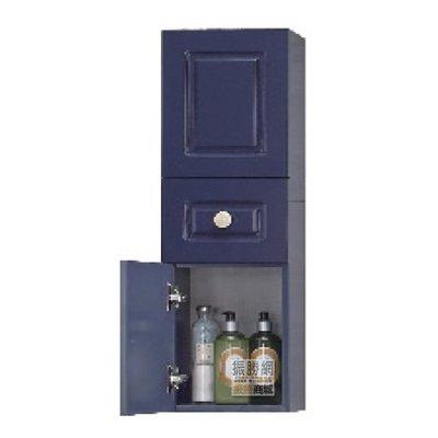 《振勝網》高評價 價格保證! AZ9007 美式古典防水多功能吊櫃 25x80cm 防水吊櫃 收納吊櫃