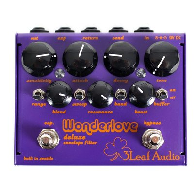 【成功樂器】3Leaf Audio Wonderlove v2 Envelope Filter 效果器