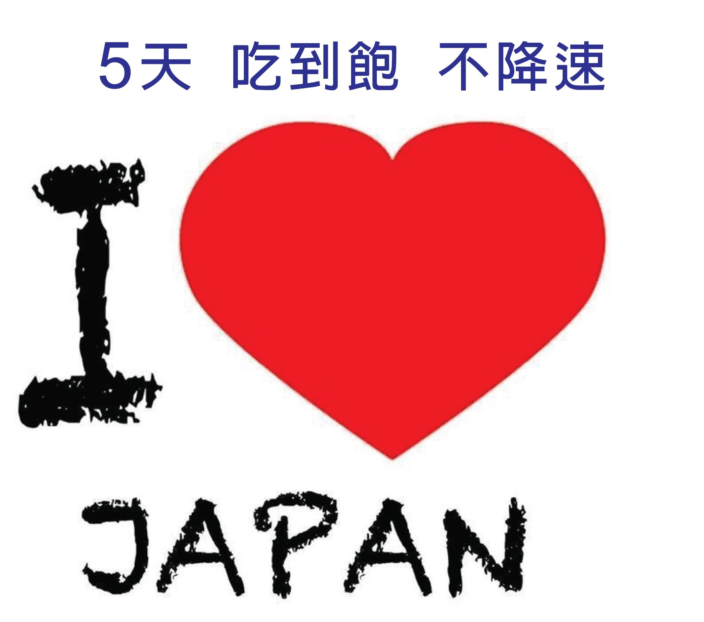 [免設定APN]5天吃到飽不降速上網卡softbank docomo東京北海道大阪沖繩吃到飽