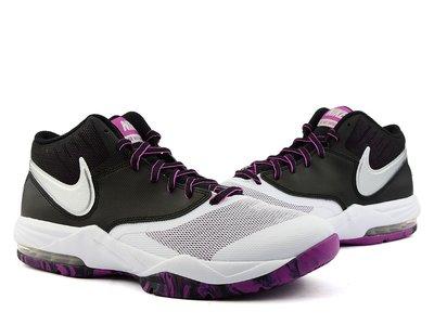 =CodE= NIKE AIR MAX EMERGENT 3M反光皮革籃球鞋(白黑紫).818954-101.迷彩.男