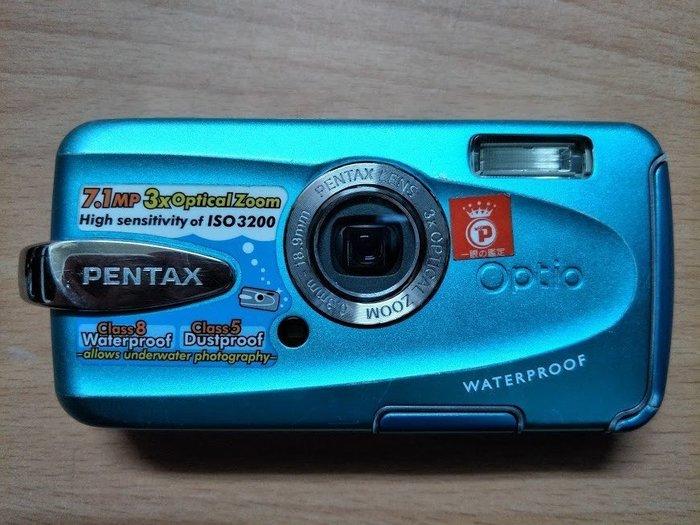 ☆手機寶藏點☆ Pentax Optio W30 數位相機 零件機 報帳繳回 收藏 Che C3
