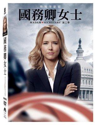 (全新未拆封)國務卿女士 Madam Secretary 第二季 第2季 DVD(得利公司貨)